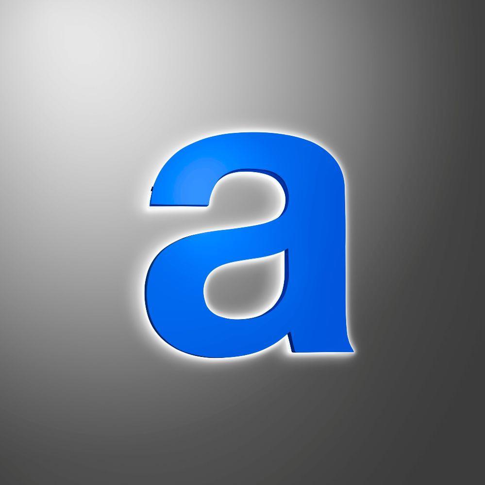 halo illuminated built up letter