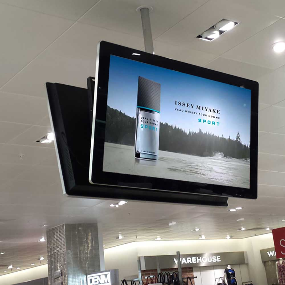 Slimline Digital Advertising Display