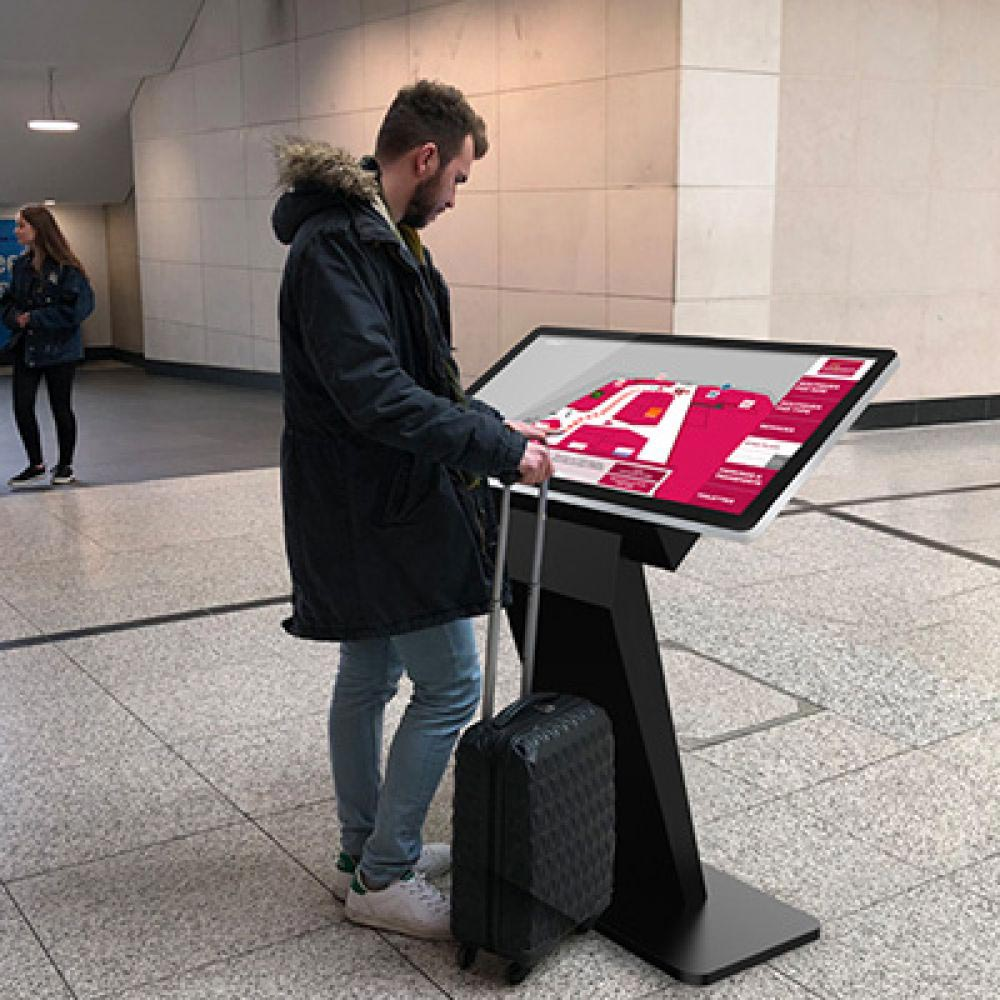 Digital touch screen kiosk