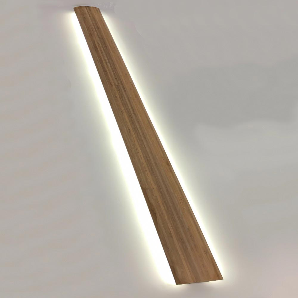 light in wood