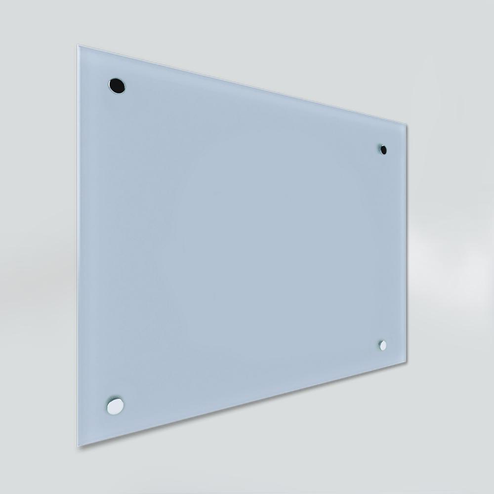 Glass Dry Wipe Whiteboard Doodleglass - Pastel Blue