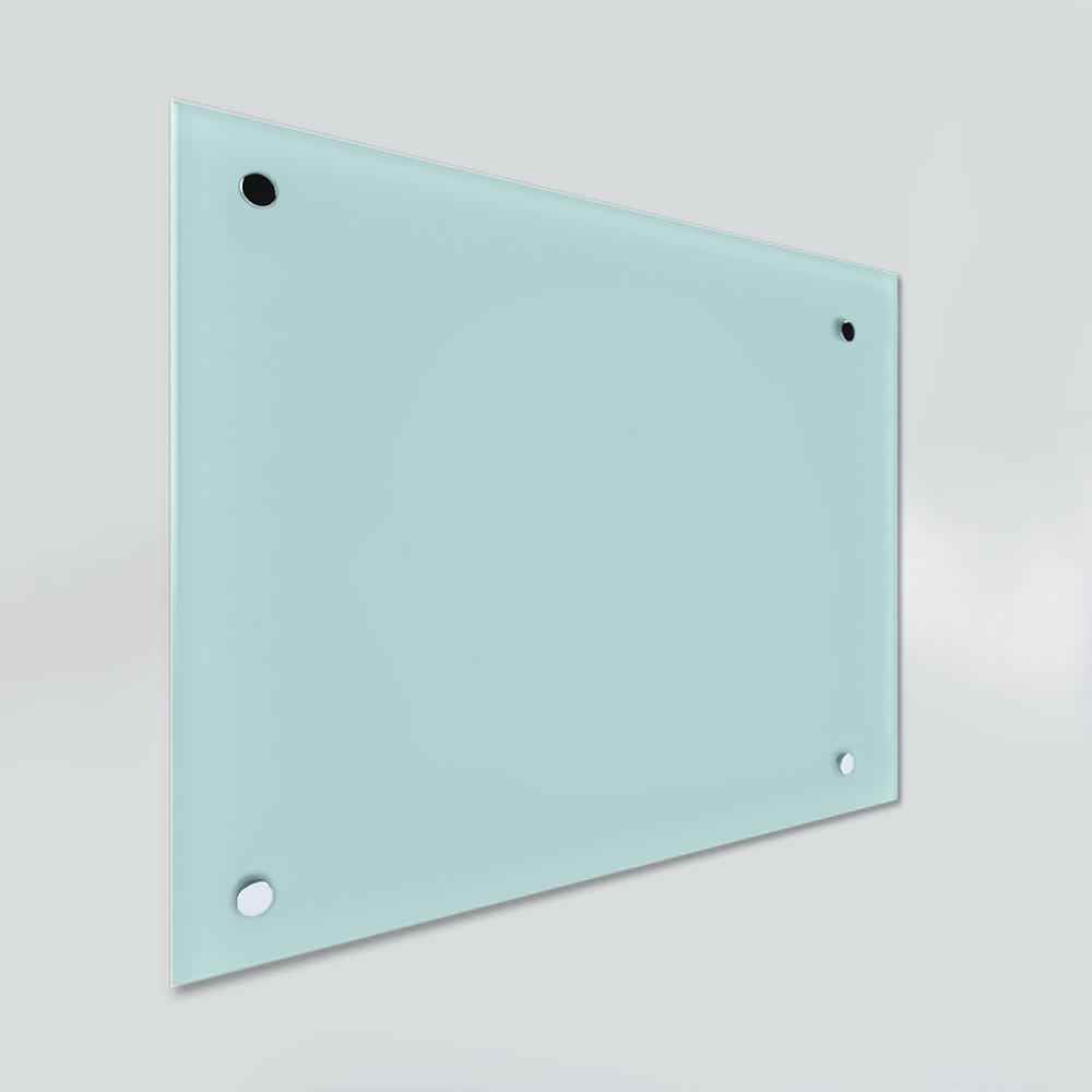 Glass Dry Wipe Whiteboard Doodleglass - Pastel Green