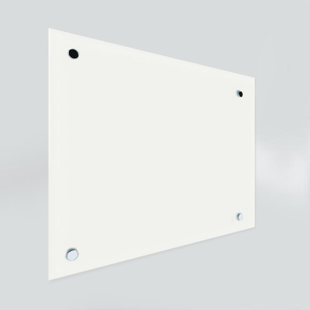 Glass Dry Wipe Whiteboard Doodleglass - White