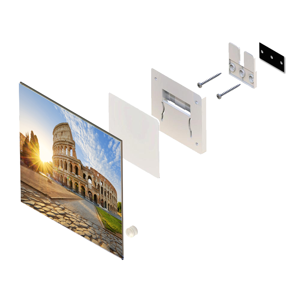 Invisible Picture Sign Mounting System