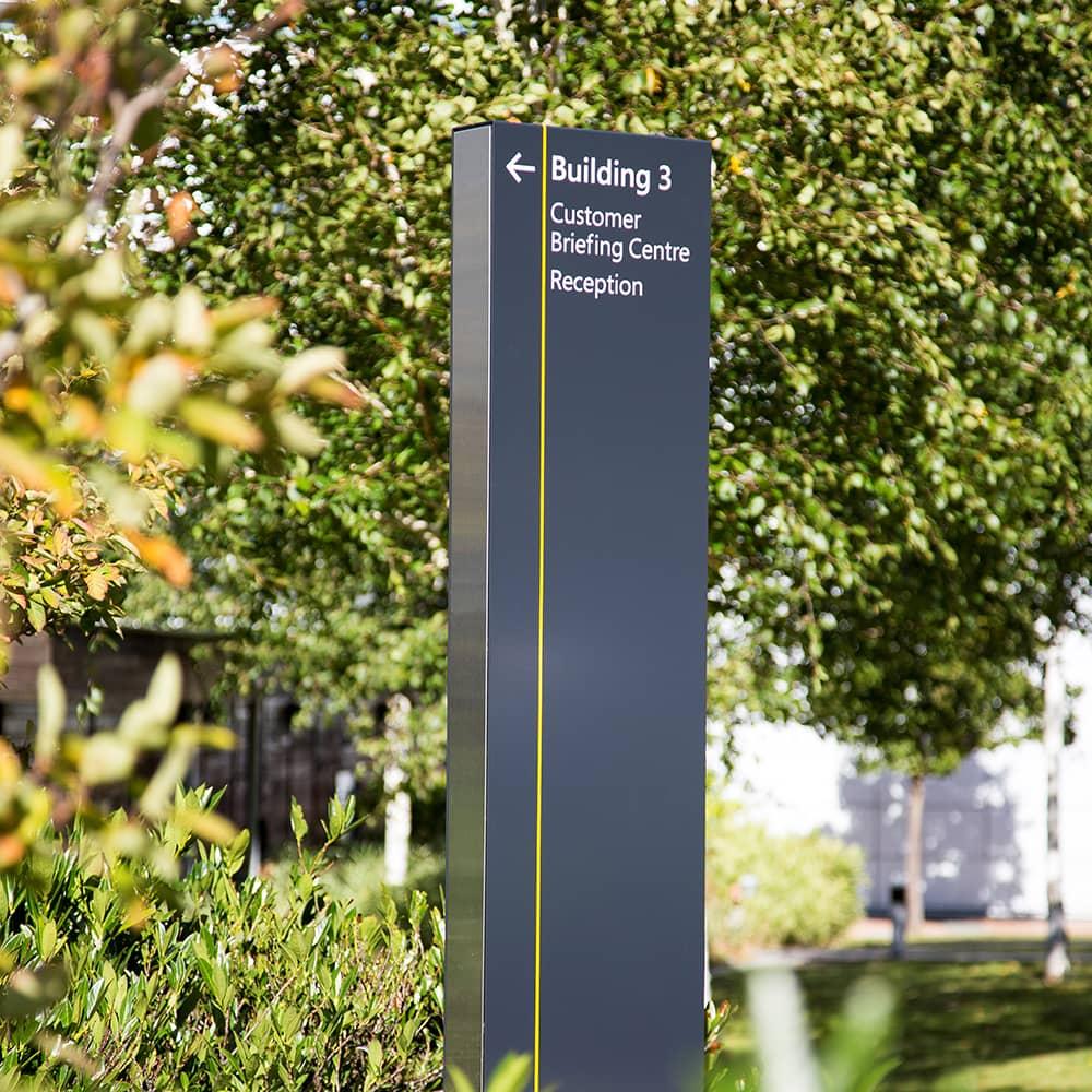 Totem Monolith Signage