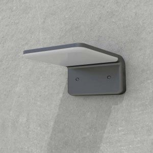 Solar Powered Architectural Wall Light