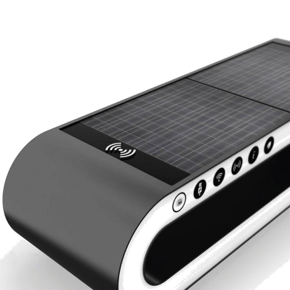FUTURE SOLAR POWERED BENCH