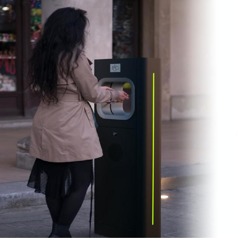 Solar Hand Sanitiser - External street furniture - Illuminating Wayfinding