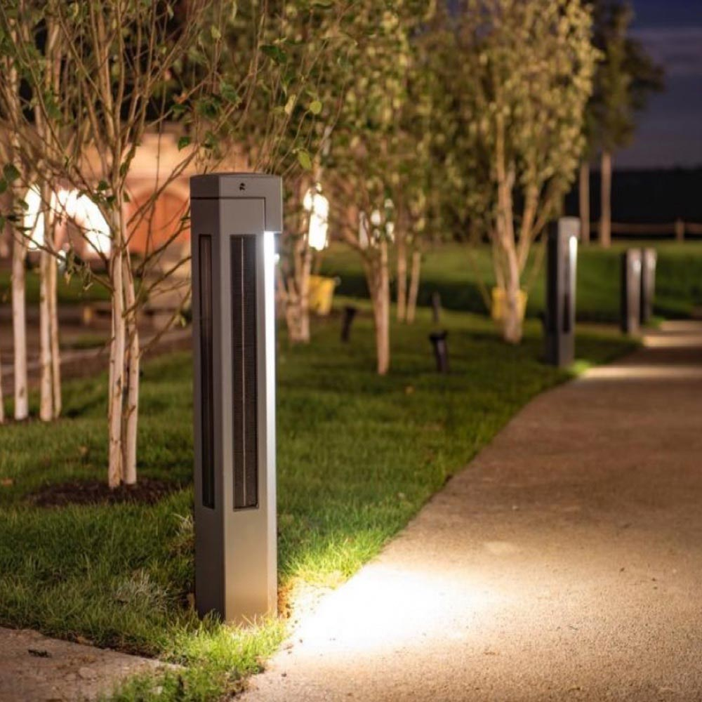 Solar Wayfinding light post