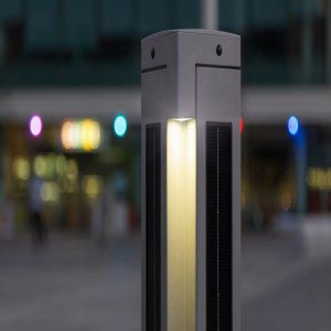 Solar eco post light