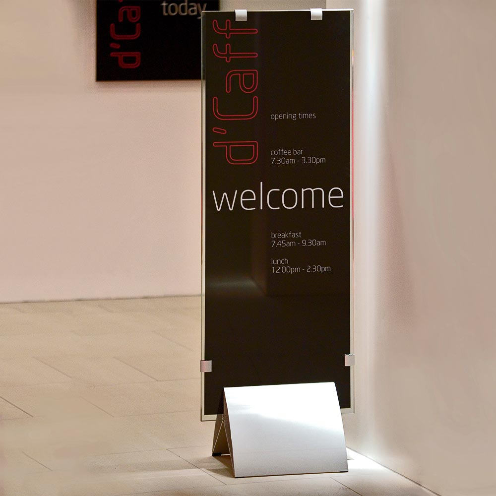 FSS Aero Footprint Freestanding Display Sign