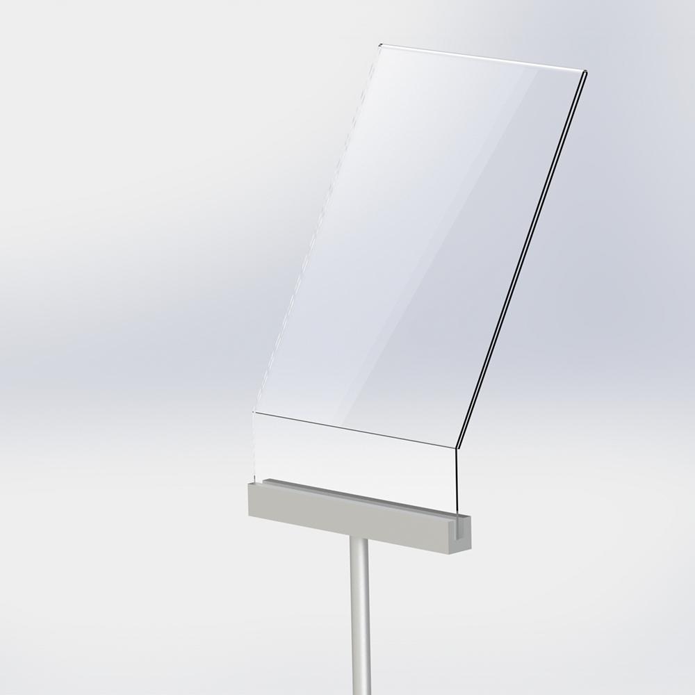 Freestanding A4 Poster Holder - Angled Design