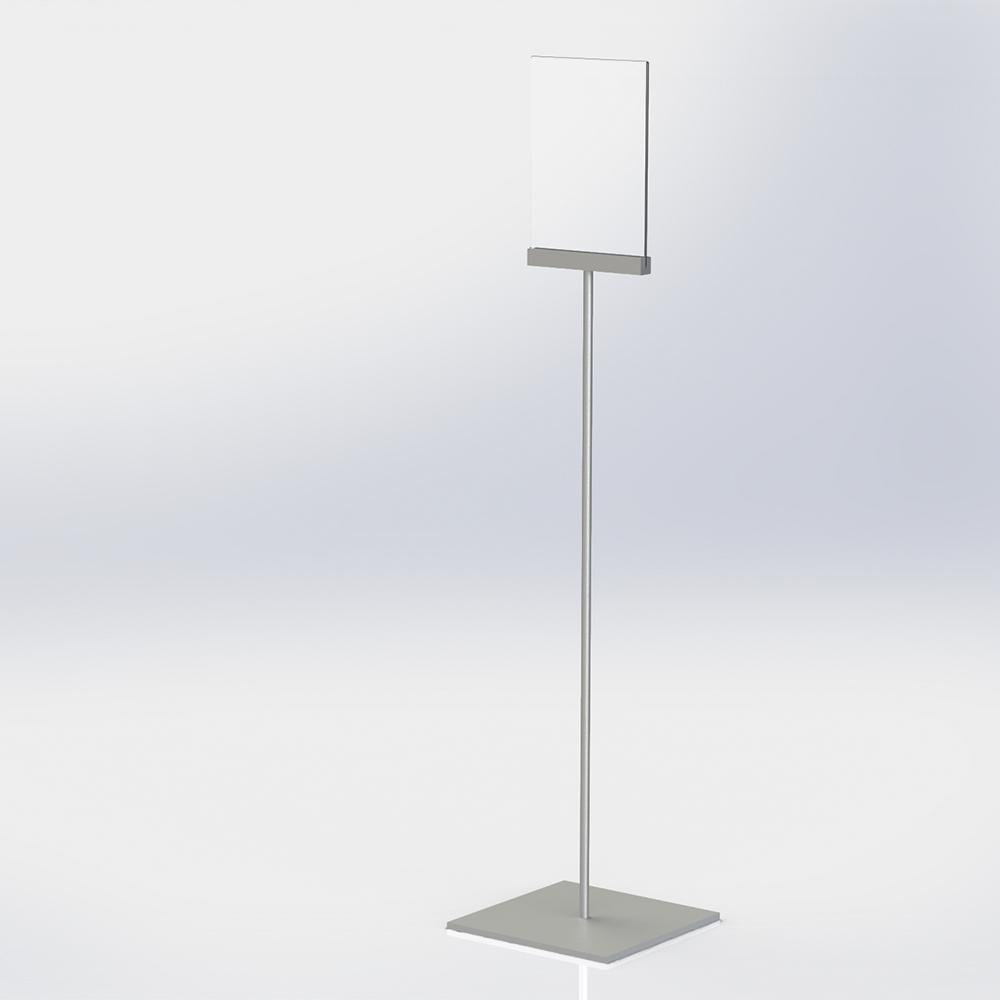 Freestanding A4 Poster Holder - Flat Design