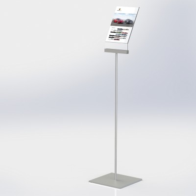 Freestanding A4 Poster Holder - Angled Design