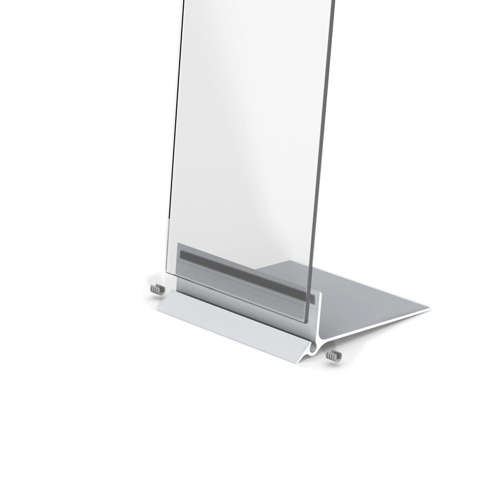 Presstissimo - Floorstand for graphics panel sign