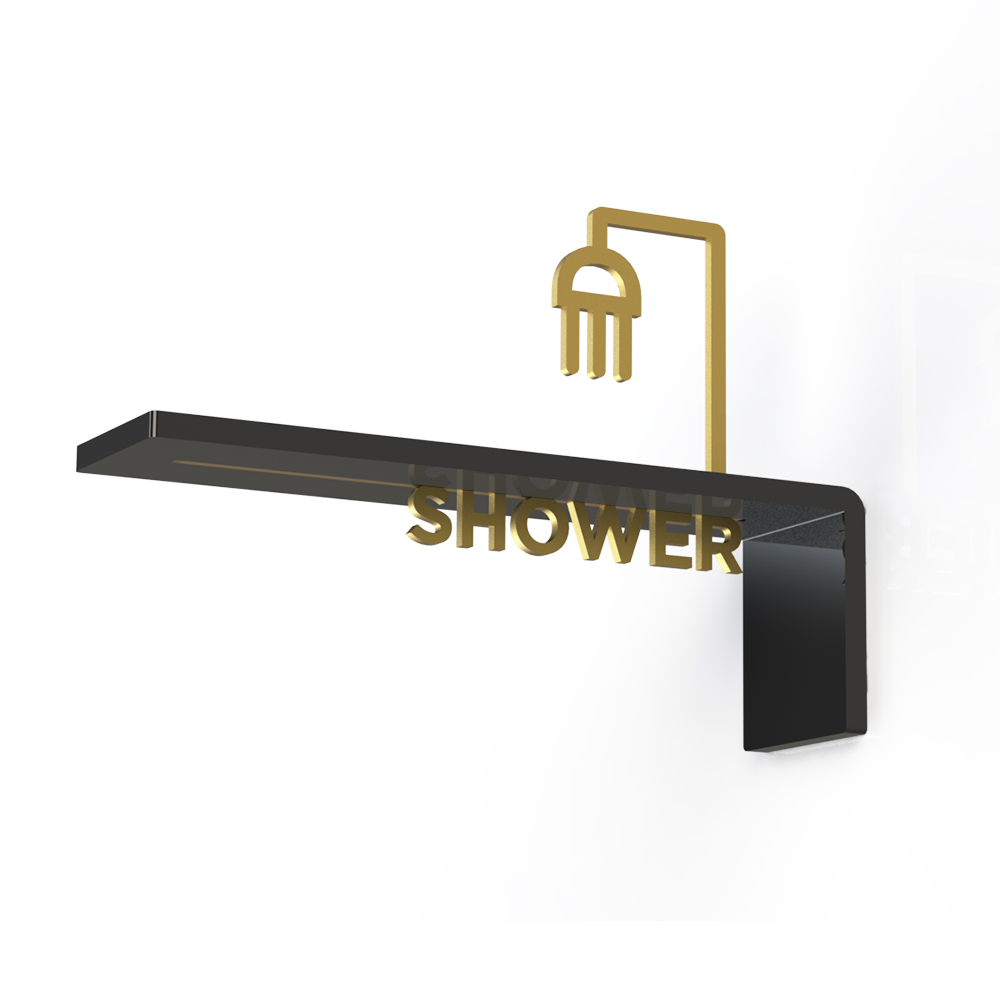 Projecting Door Icon Sign