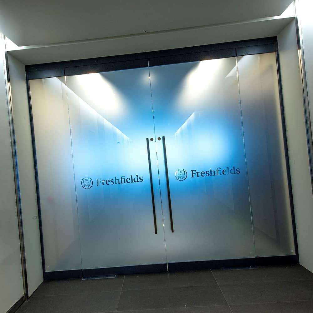 Custom Glass Manifestation Signage