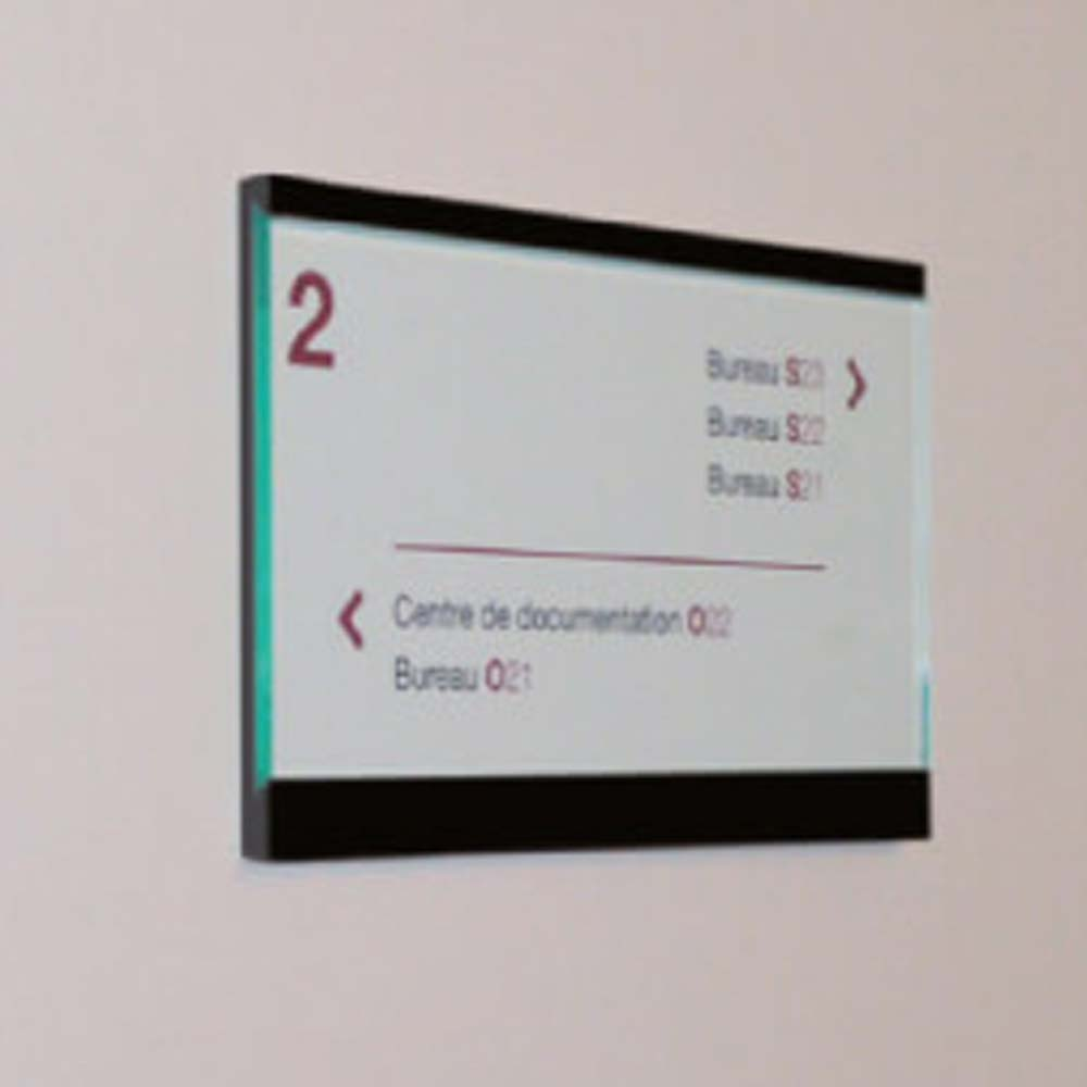 Room or Location Sign Architectural Room Sign Fitting