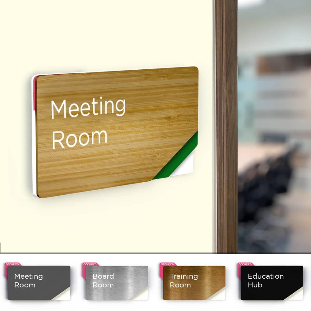 Sliding Meeting Room Sign