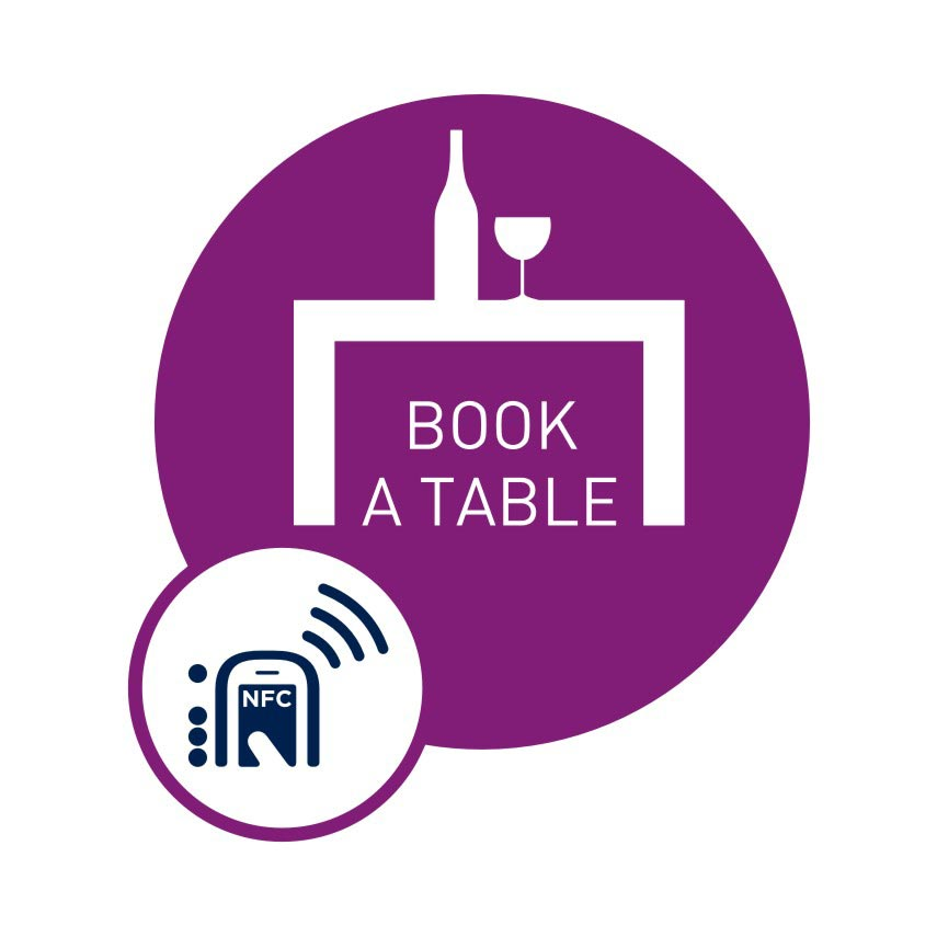 Book a Table, NFC Smart Tag