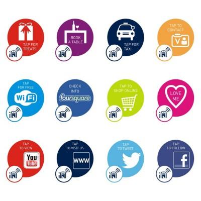 NFC Smart Sticker Range