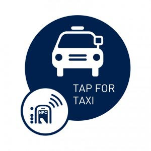 Tap for Taxi, NFC Smart Tag