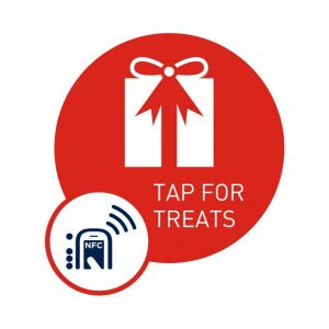Tap for Treats, NFC Smart Tag