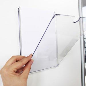Information Display Frame Pocket - Paper Insert Sign - Graphic Trap