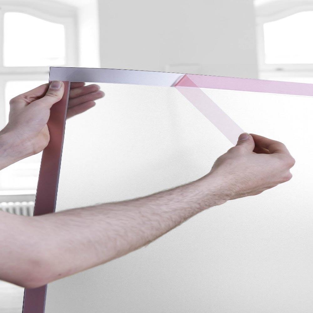 self adhesive retail window display