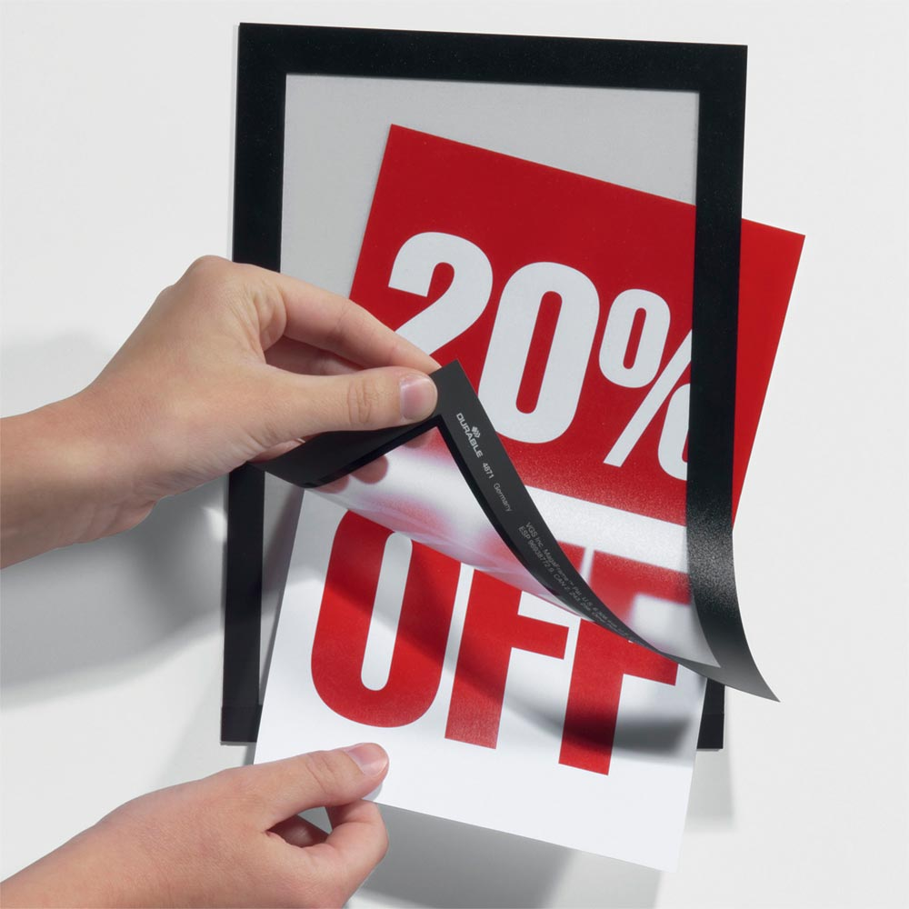 Magnetic Paper Insert Graphic Trap Frame