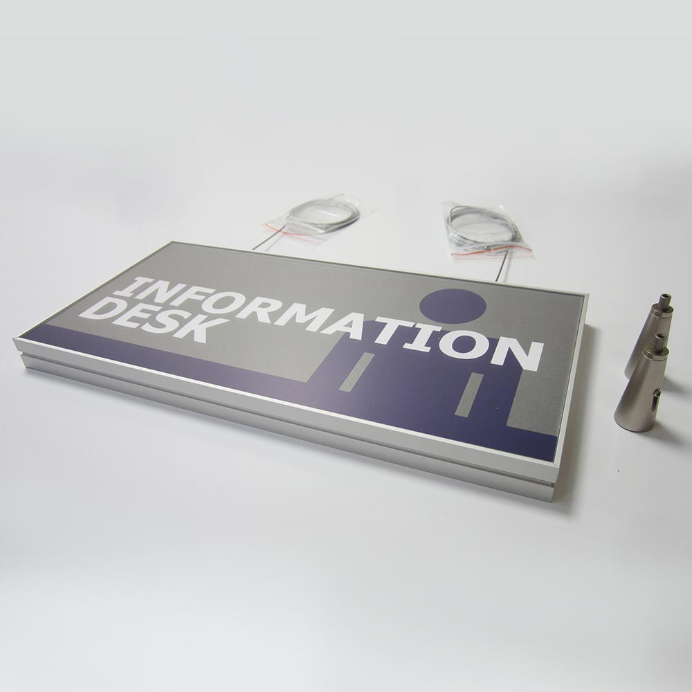 Information s=desk sign