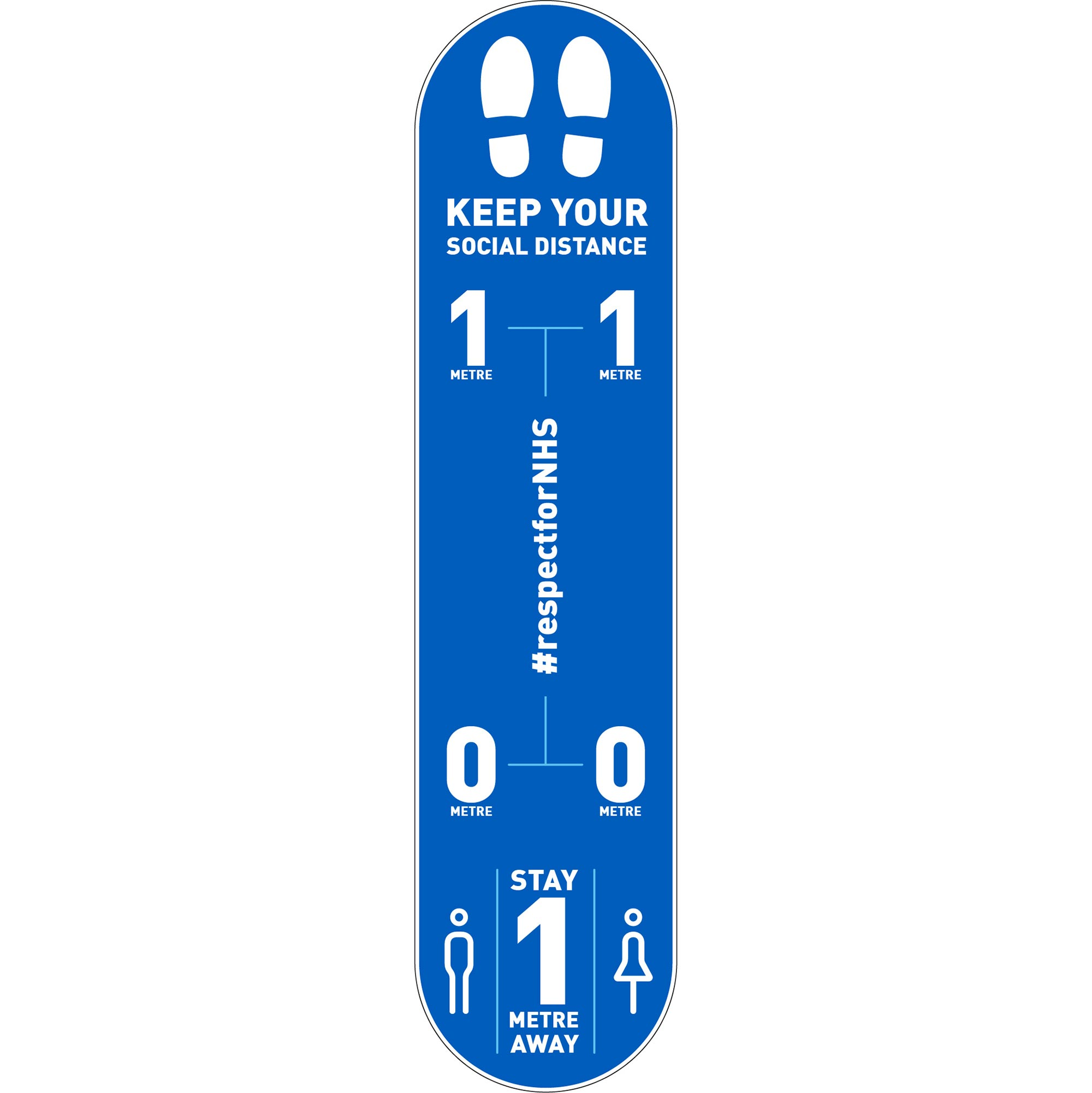 Design 3 | Blue | 1 metre