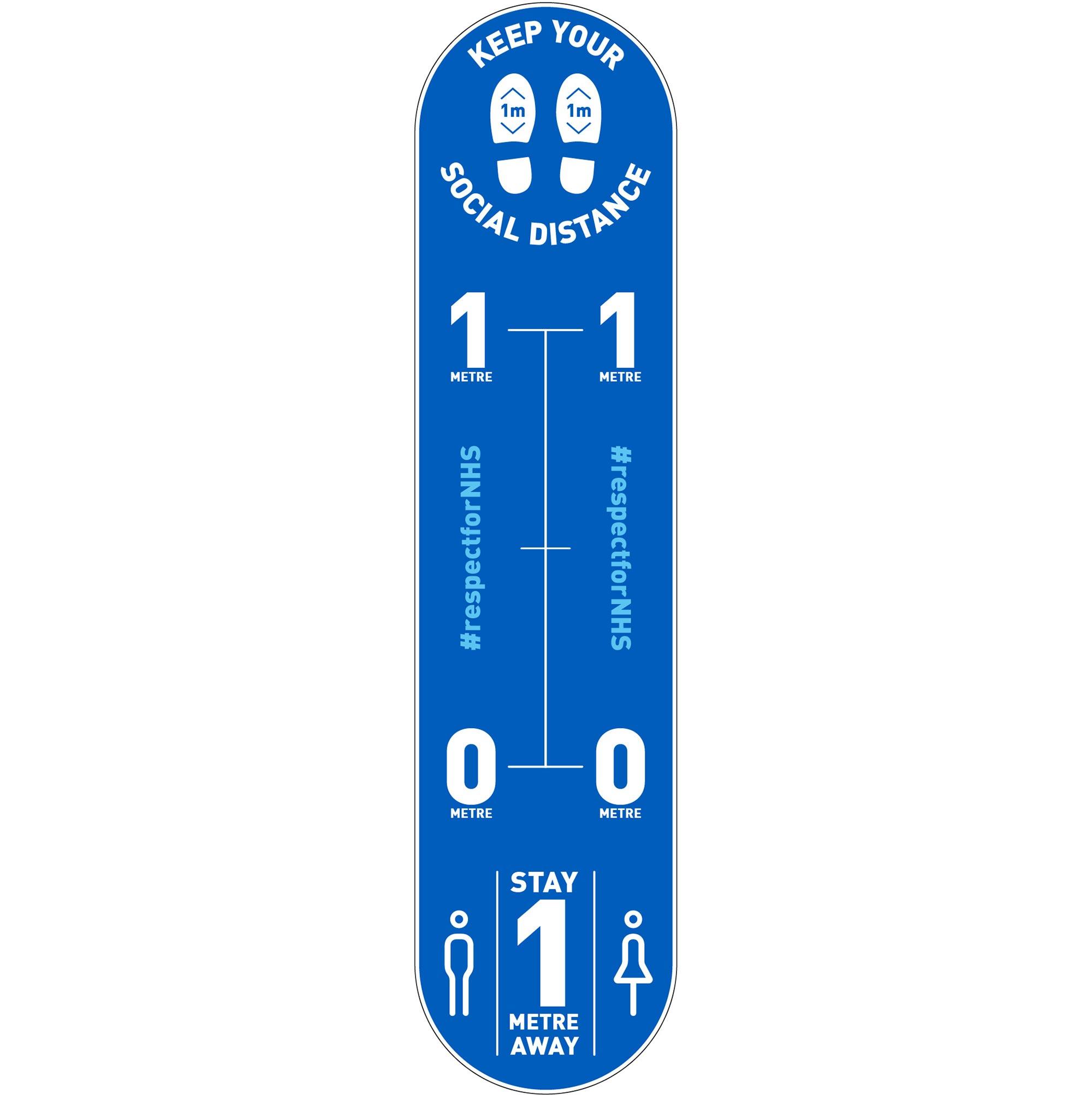 Design 5 | Blue | 1 metre