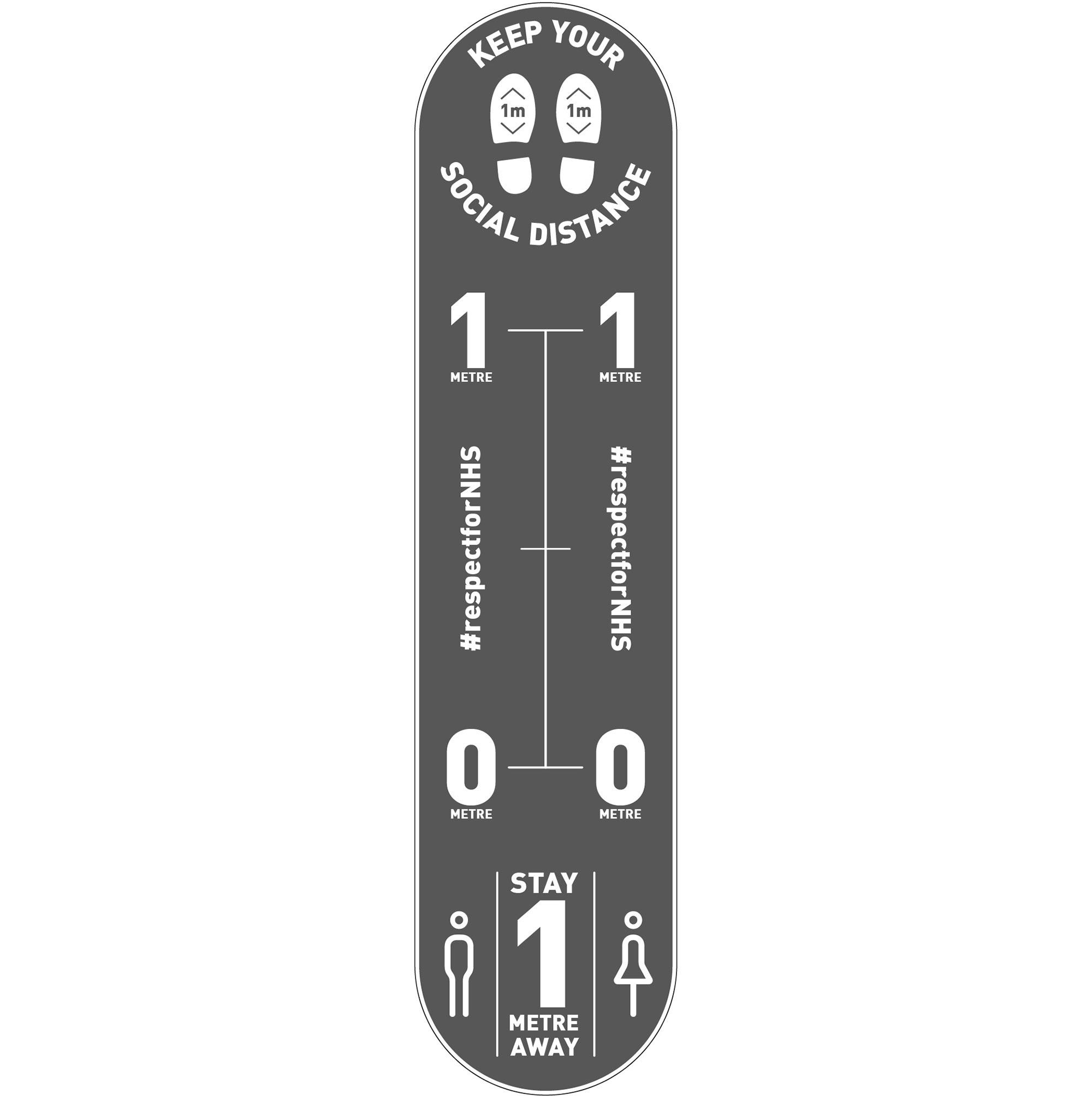 Design 2 | Grey | 1 metre