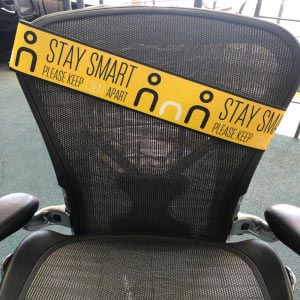 Social Distancing Seat band