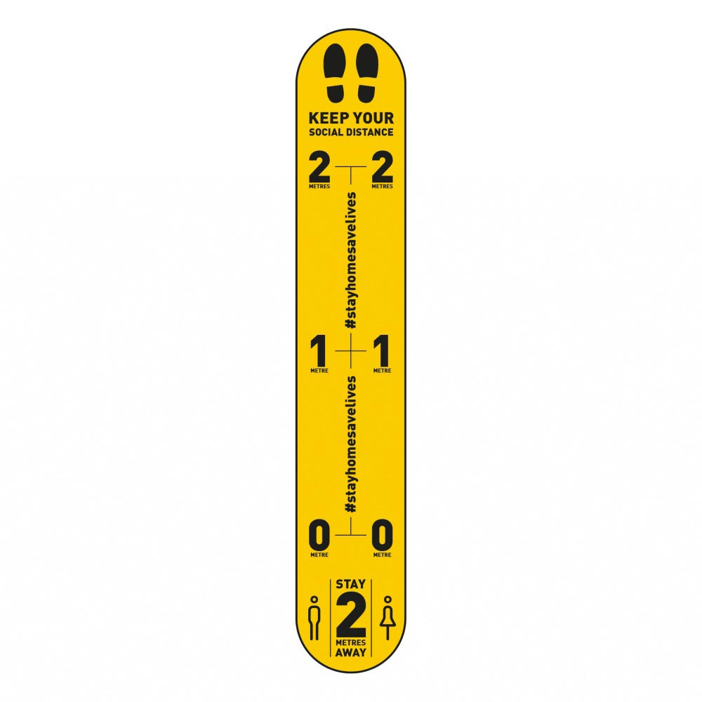 Design 1 | Yellow | 2 metres