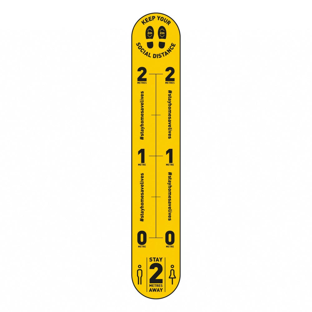 Design 2 | Yellow | 2 metres