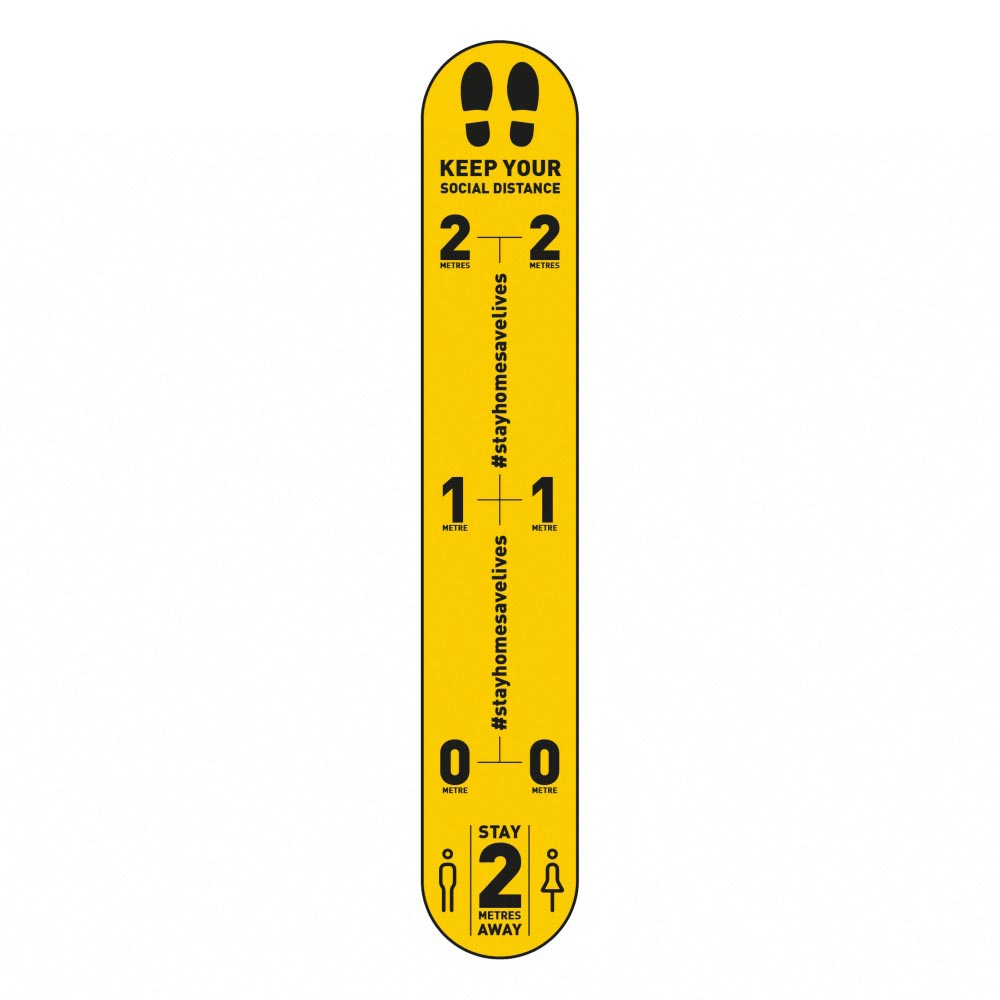 Design 3 | Yellow | 2 metres