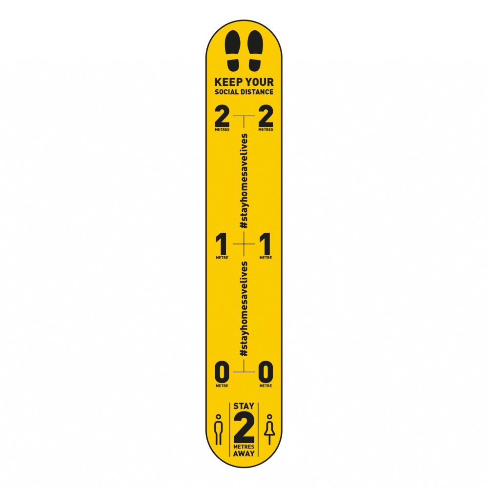 Design 4 | Yellow | 2 metres