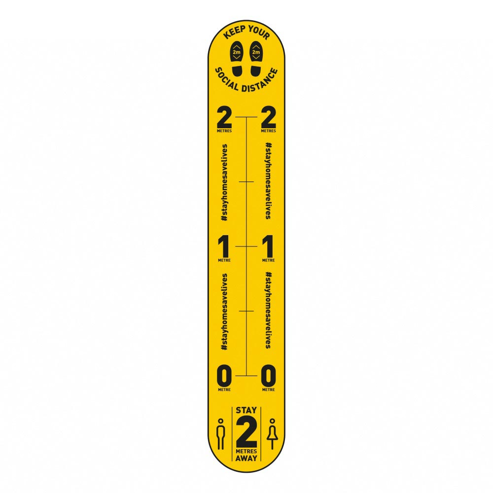Design 5 | Yellow | 2 metres