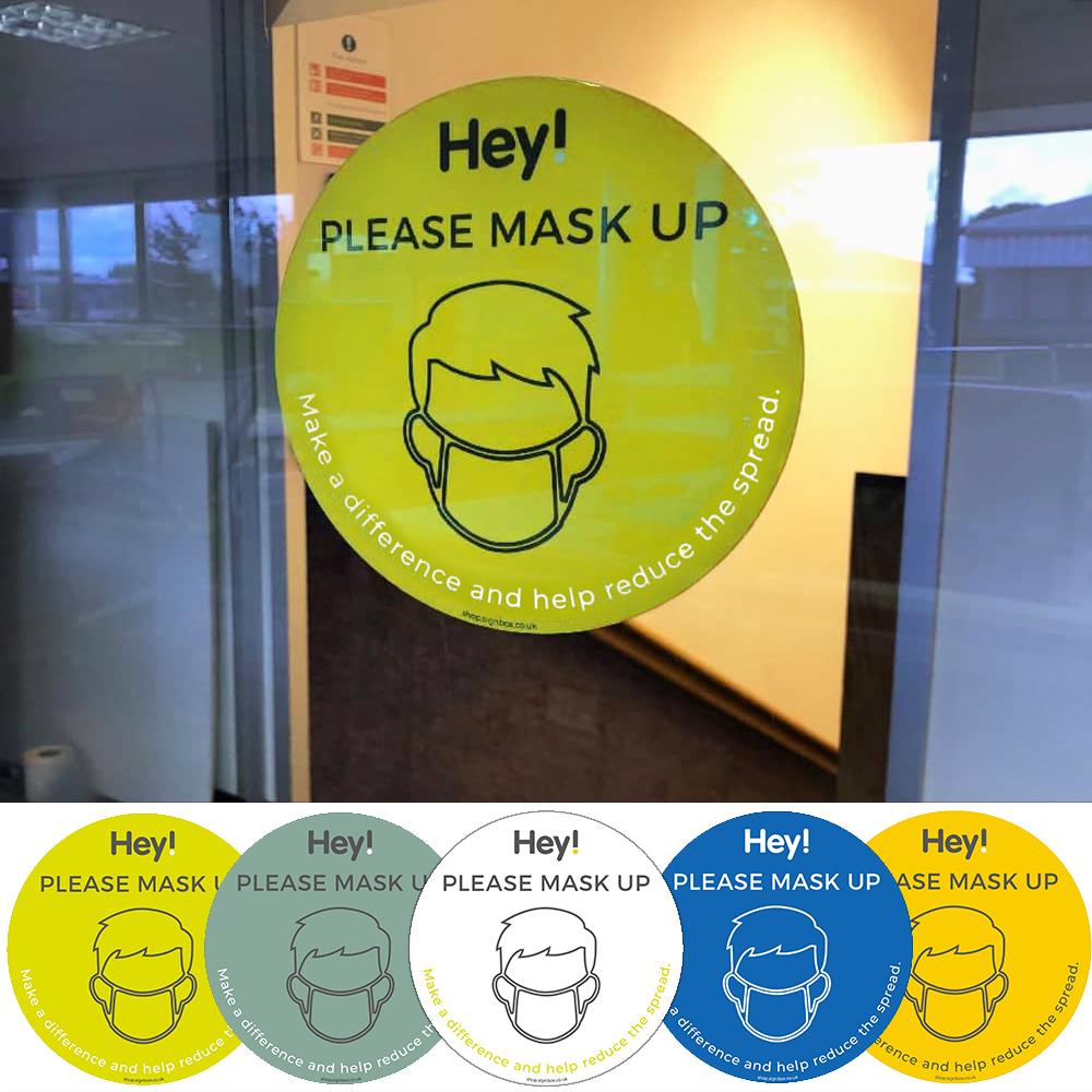 Please Wear a Mask - Window Sticker