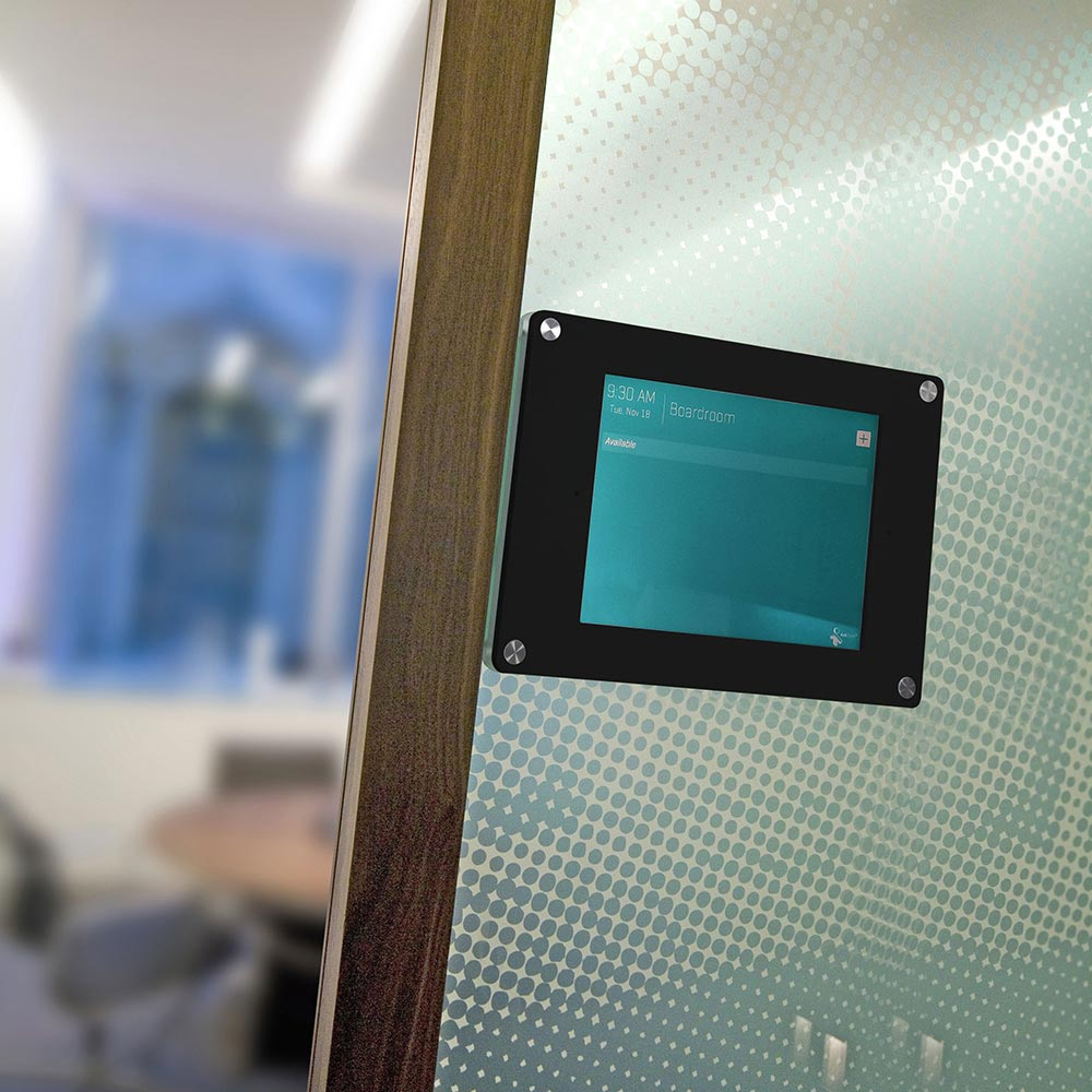 wall or glass ipad holder