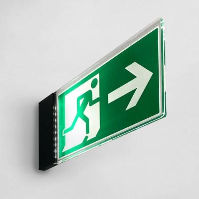 safety sign illuminated