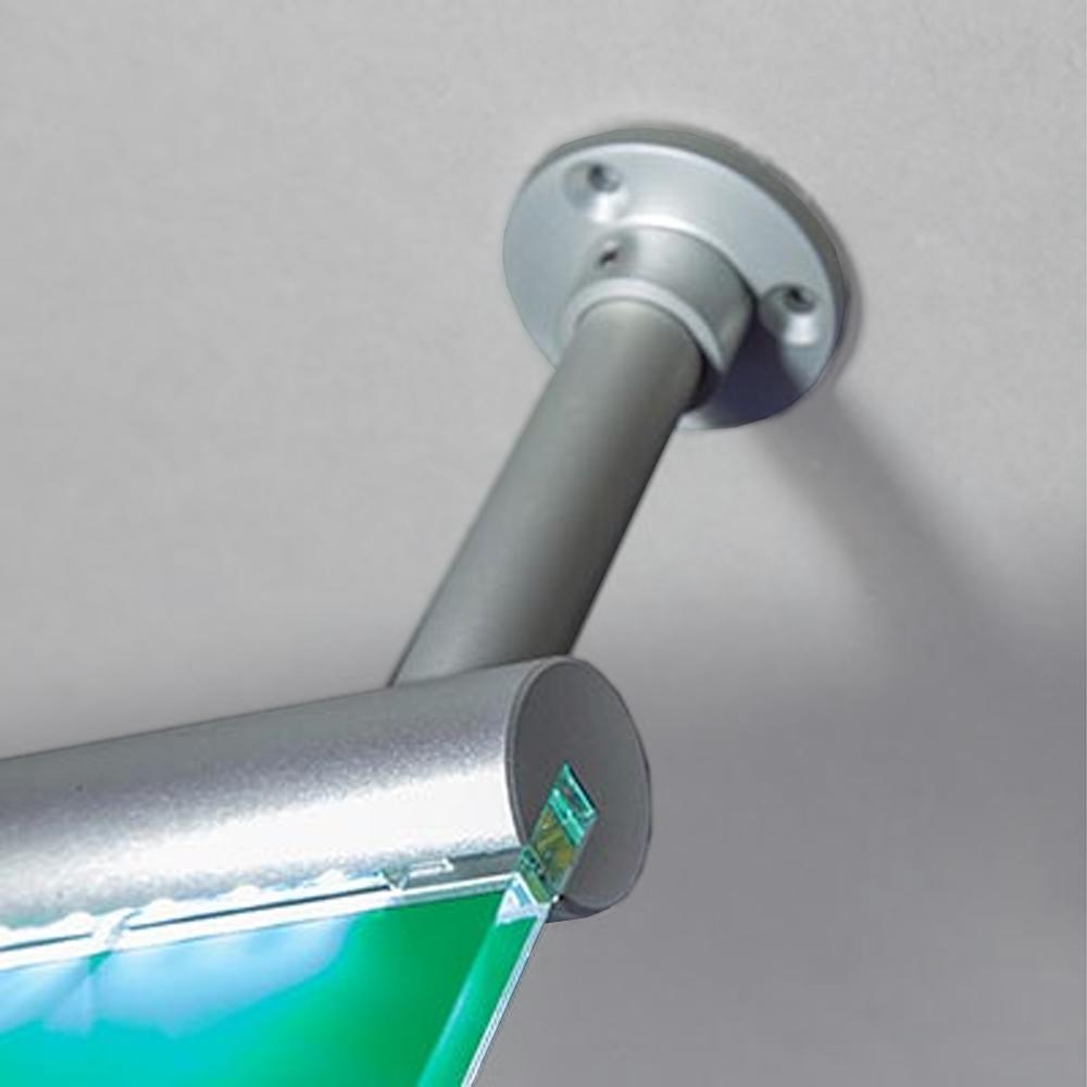 BS EN ISO7010  FE LED Signslot - Illuminated - Ceiling hanging