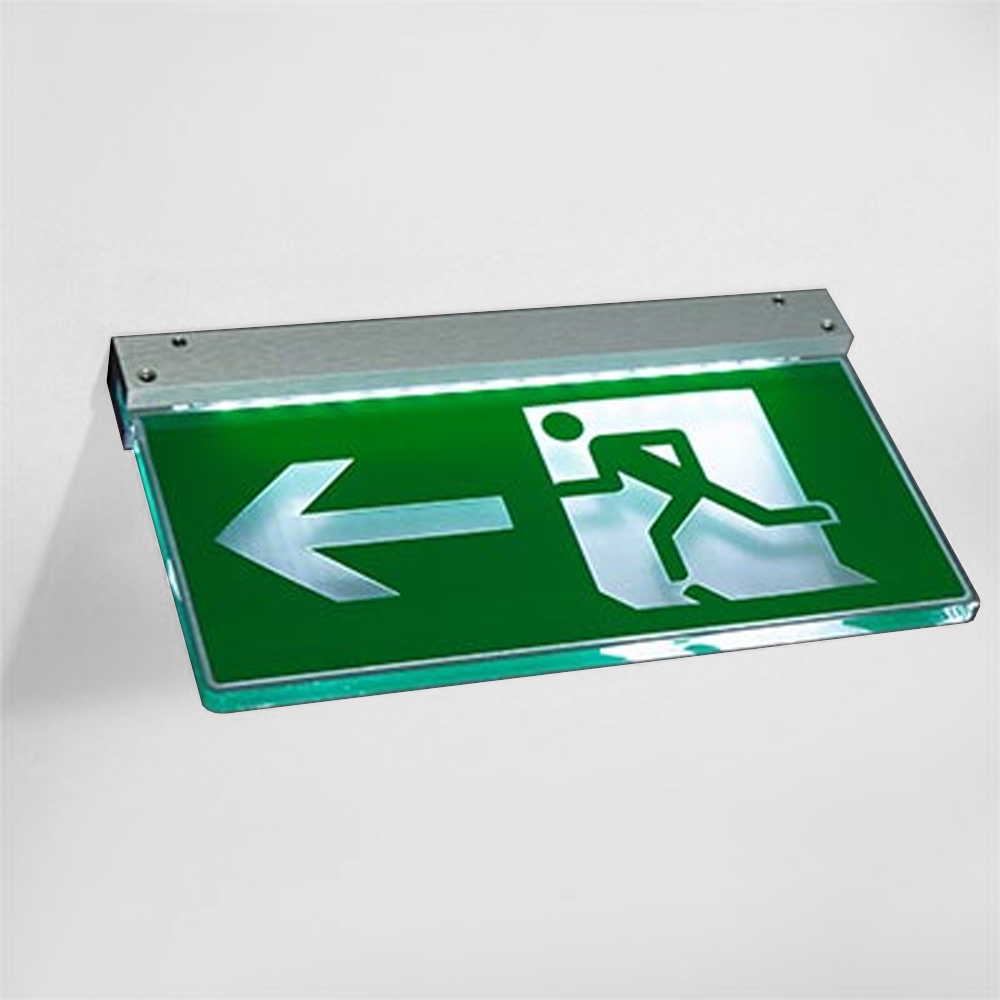 Emergency exit Statutory Sign Fire escape - illuminated - DALI