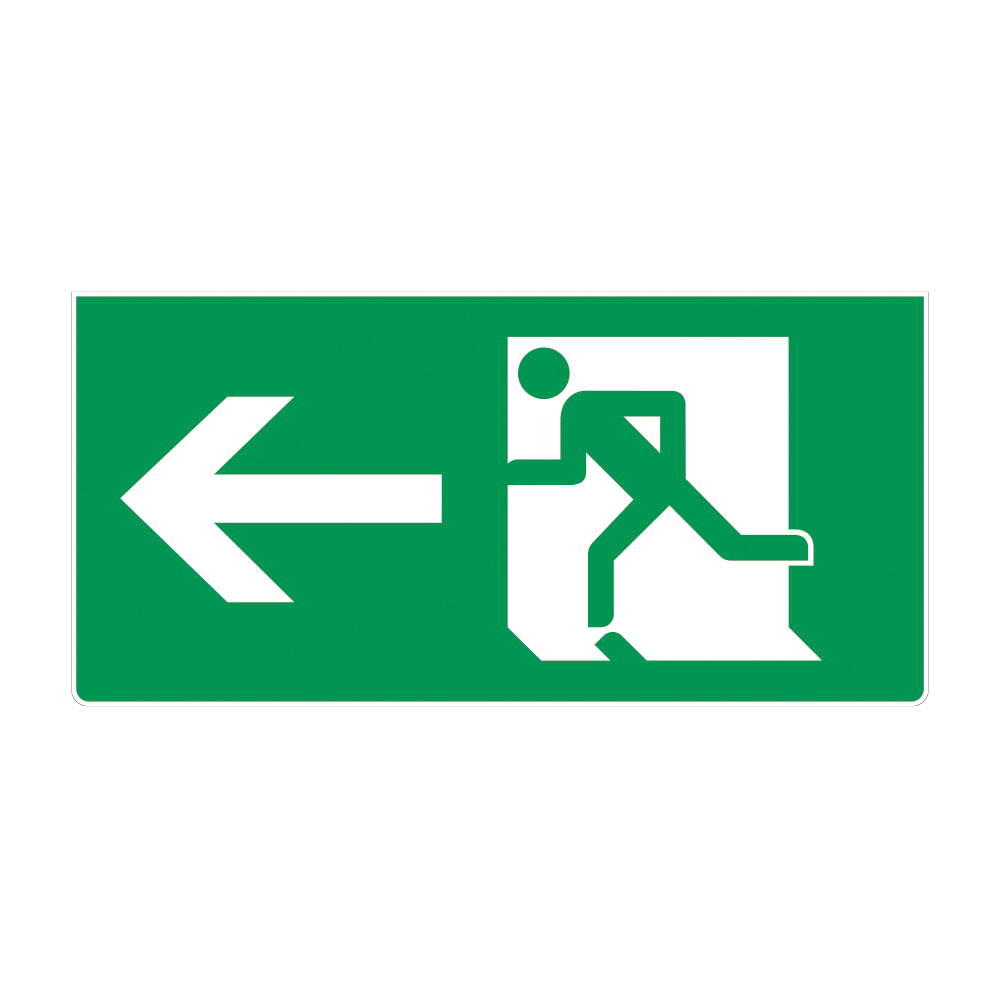 Fire Exit Sign - LEFT