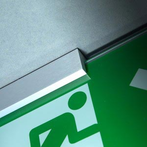Fire Exit Sign - XBlock - Ceiling Mounted