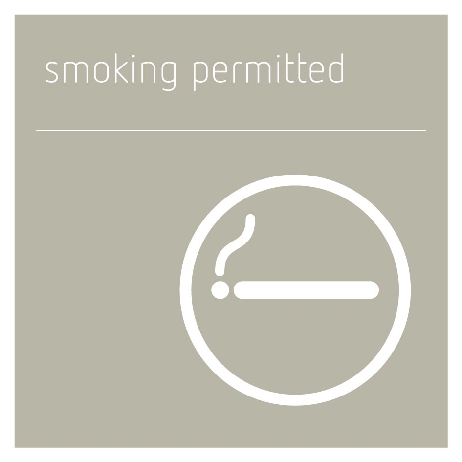 Smoking Permitted - Concrete Grey