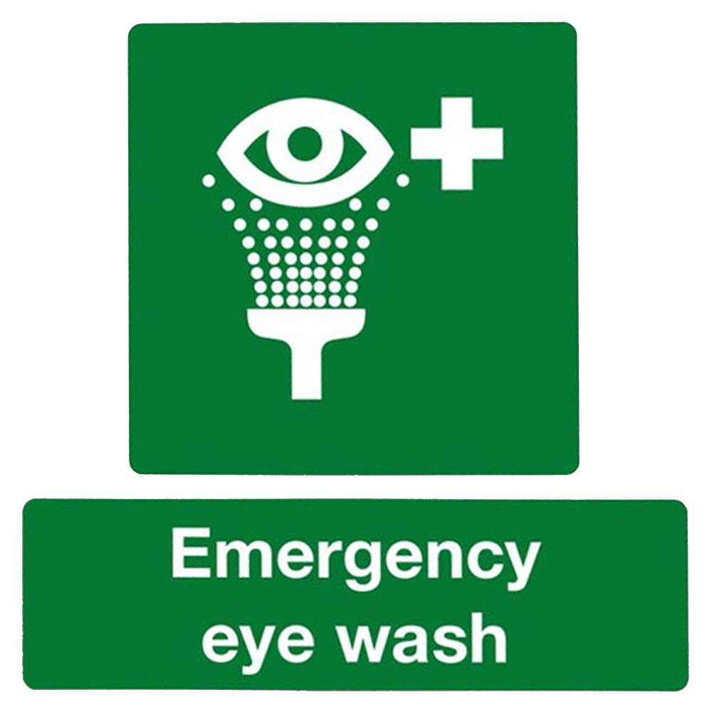 Emergency Eye Wash Sign