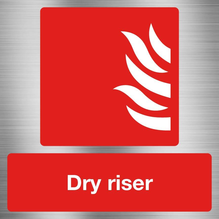 Fire Dry Riser Sign